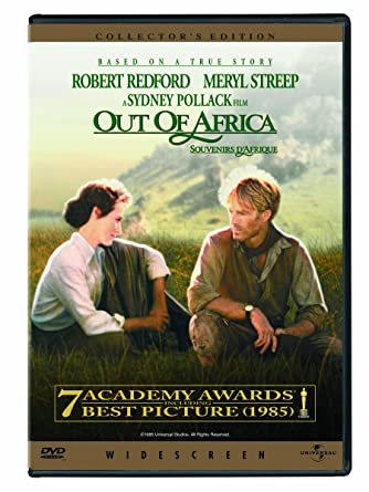 amazon com out of africa robert redford, meryl streep Migration Out of Africa
