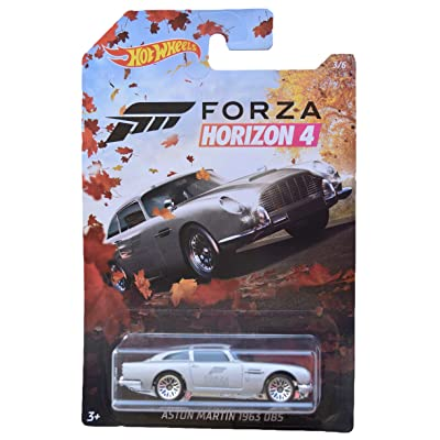 Hot Wheels Forza Horizon 4 Aston Martin 1963 DB5 3/6, Silver: Toys & Games [5Bkhe1001351]