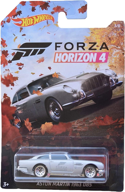 Amazon.com: Hot Wheels Forza Horizon 4 Aston Martin 1963 DB5 ...