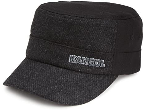 018d494a3fa68 Kangol Men s Textured Wool Army Cap at Amazon Men s Clothing store ...