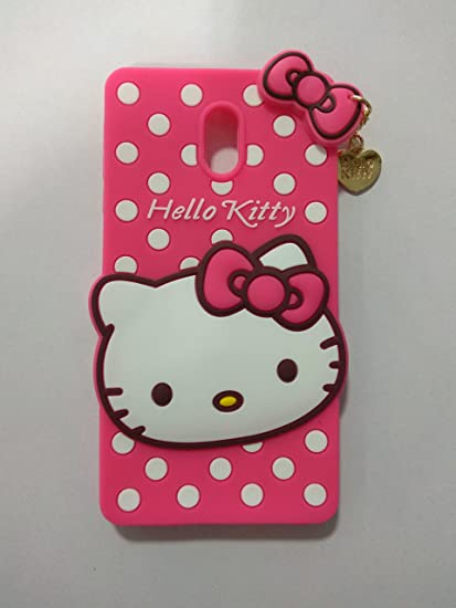 outlet store 6cc48 2429a Jotech® Cute Hello Kitty Back Cover for Nokia 3: Amazon.in: Electronics