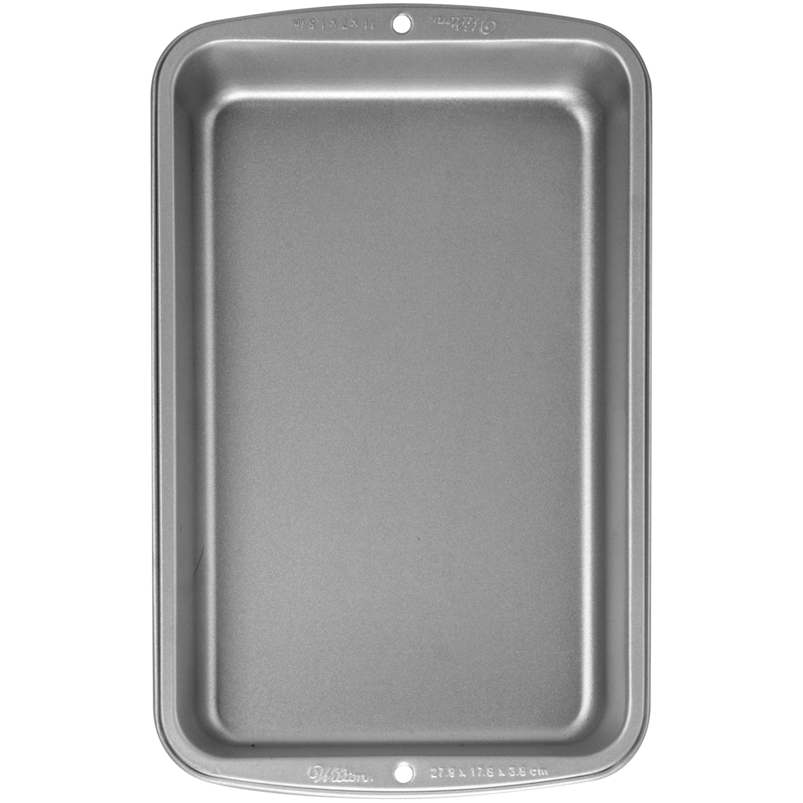 Wilton Recipe Right 11 Inch x 7 Inch x 0.5 inch Biscuit Brownie Pan by Wilton (Image #2)