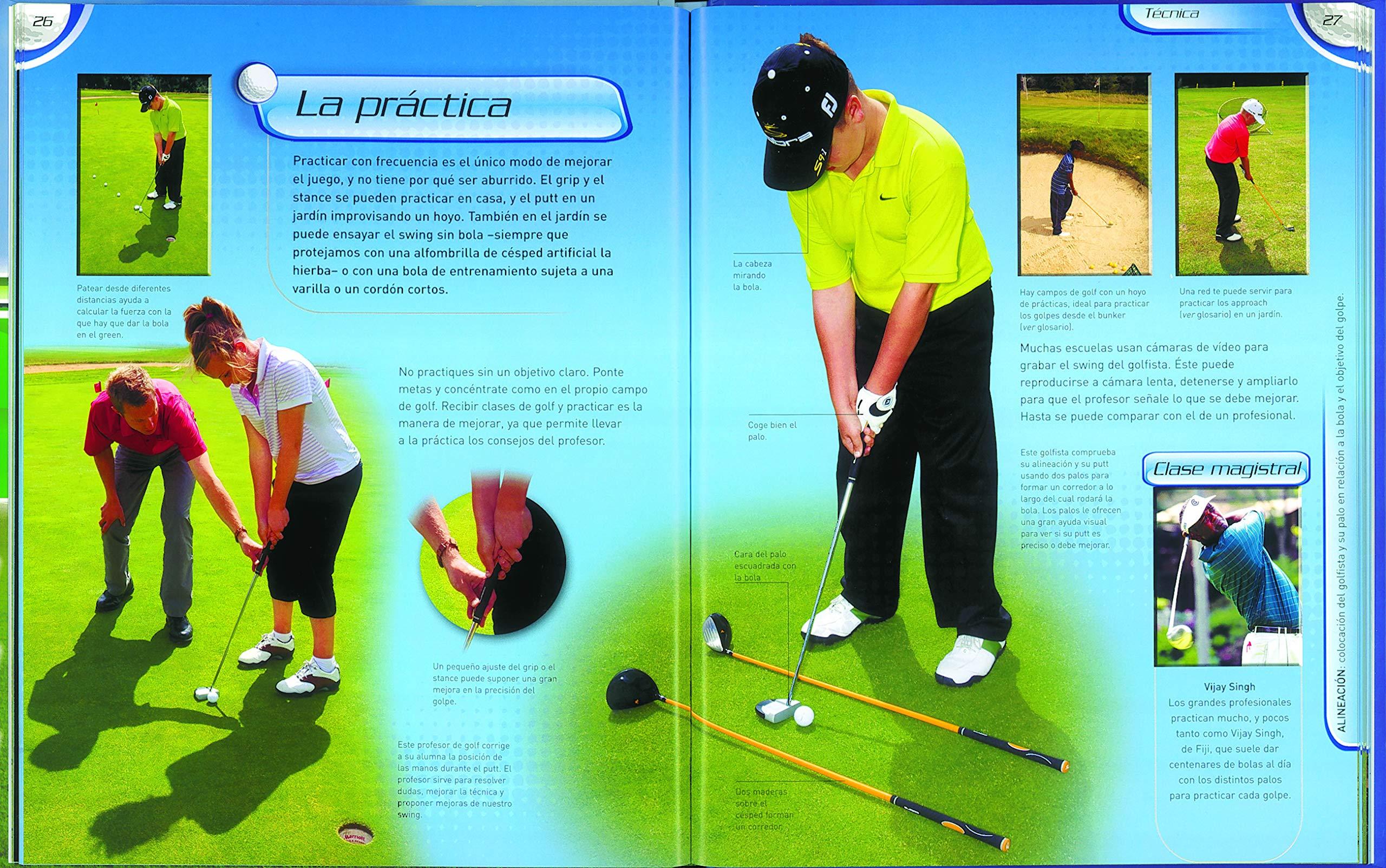 Golf: Equipo De Redacción De Susaeta: 9788467707045: Amazon ...