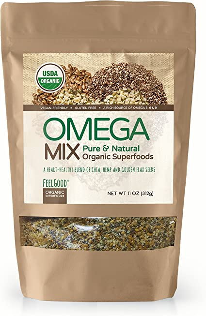 Amazon.com: Feel Good Super Alimentos USDA orgánico Omega ...