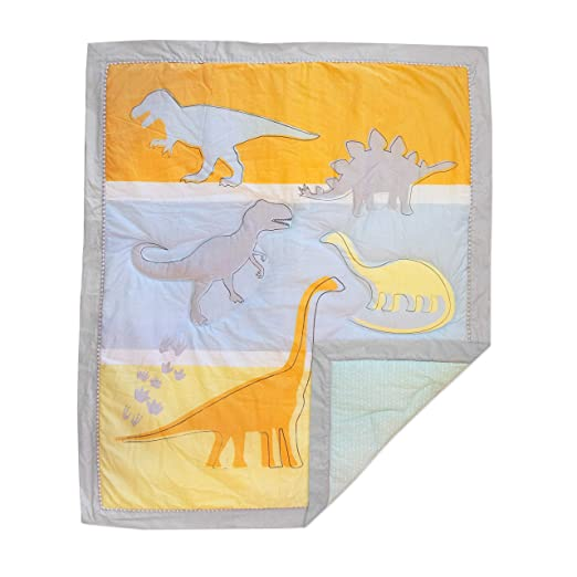 Lolli by Lolli Living Baby/Toddler Quilt - Dino Land