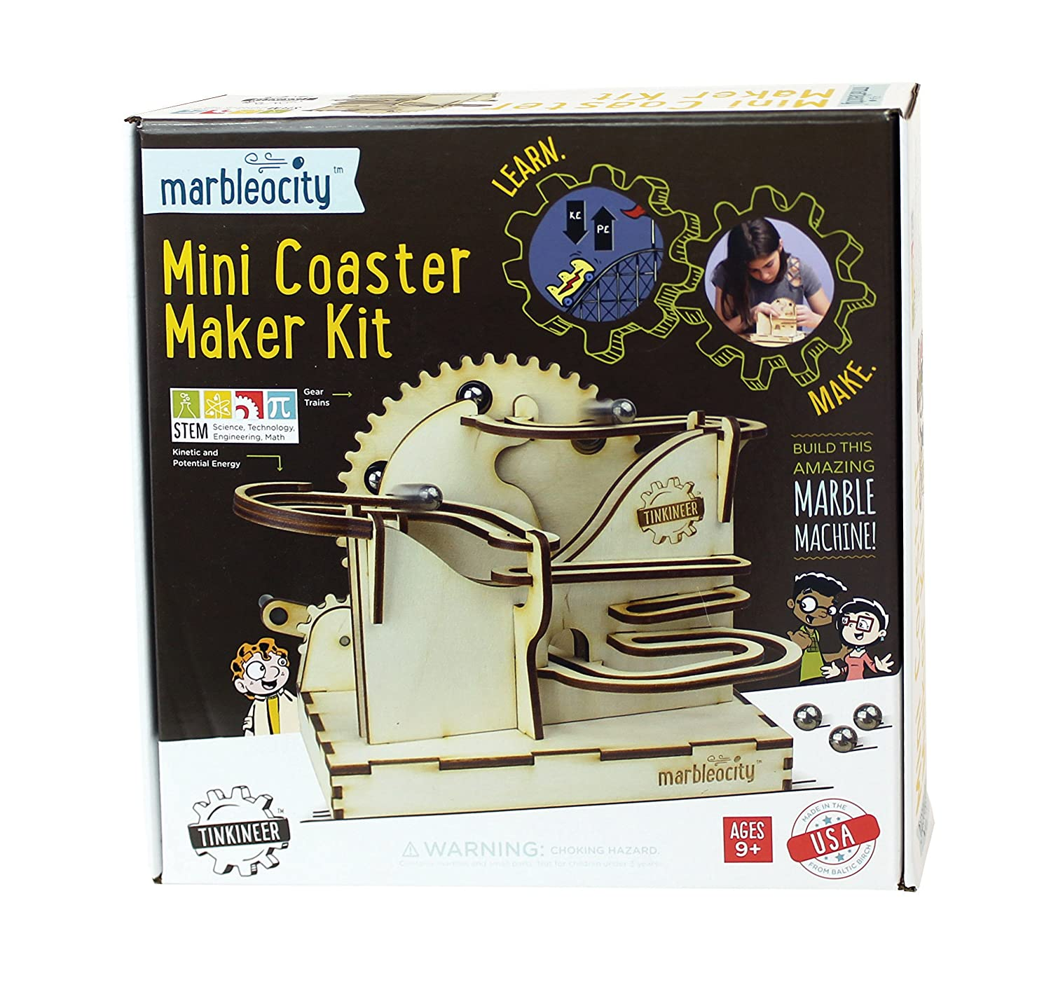 Marbleocity Mini Coaster Patch Products MAMC100BB