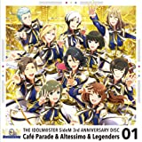 THE IDOLM@STER SideM 3rd ANNIVERSARY DISC 01