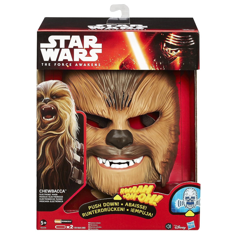 Star Wars B3226 figura máscara electrónica Chewbacca, única: Amazon.es: Juguetes y juegos