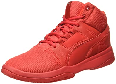 0022c229f801b Puma Men s Rebound Street Evo High Risk Red-High Risk Red Sneakers - 11 UK