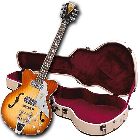 Kay Reissue k775vs Jazz II guitarra eléctrica con Bigsby Trémolo ...