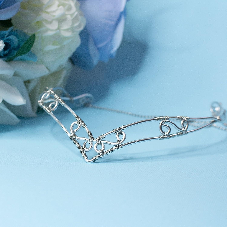 Beruthiel elfic wire bridal tiara, Bridal crown elven style for ...