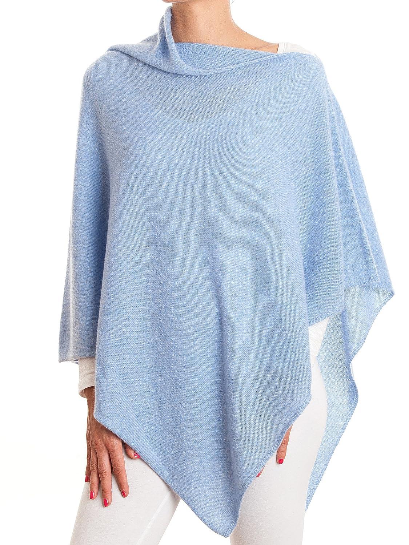 DALLE PIANE CASHMERE - Poncho 100% Cashmere - Woman Color: Anthracite One Size Ver070_ANTU
