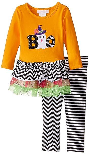Boys' Halloween Knit Appliqued Boo Playwear Set