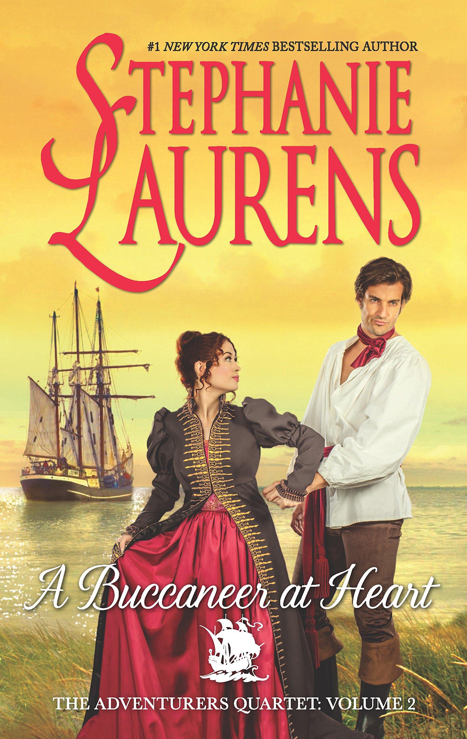 A Buccaneer at Heart (The Adventurers Quartet): Stephanie Laurens:  9780778318781: Amazon.com: Books