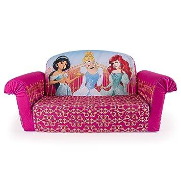 Marshmallow Furniture Childrens 2 In 1 Flip Open Foam Sofa Disney Princess By