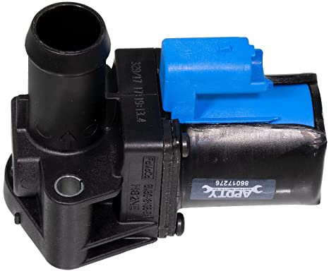 APDTY 141387 Radiator Heater Water Coolant Control Bypass Valve Fits 1 6L  Includes Turbo On 2014-2016 Ford Escape or Transit Connect 2014-2018 Fiesta