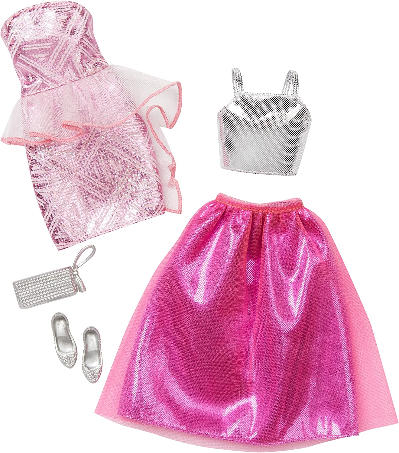 2 Pack Barbie Fashions Complete Look