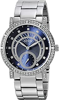 GUESS Womens Stainless Steel Crystal Casual Watch