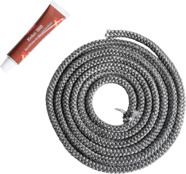 Forno Fornello Porta Corda GUARNIZIONE LEGNO BRUCIATORE FUOCO Vetro Colla Adesive da 14 mm x 3m adhesive tape .
