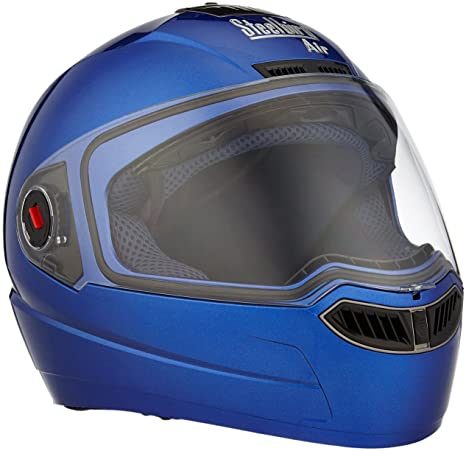 b111a3253 Steelbird Air SBA-1 Glossy Full Face Helmet (Yamaha Blue
