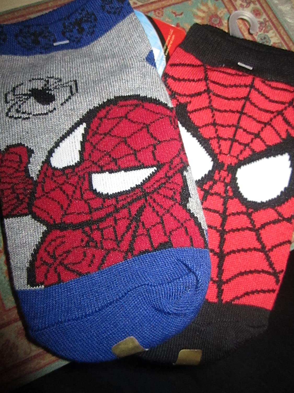 Spider Man Boys Socks Size 6-8 1//2