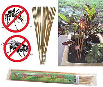 All Natural Mosquito And Fly Repellent Incense Sticks   Citronella,  Rosemary, Thyme,