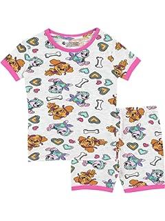 Paw Patrol Pijamas de manga corta para niñas La Patrulla Canina Ajuste Ceñido
