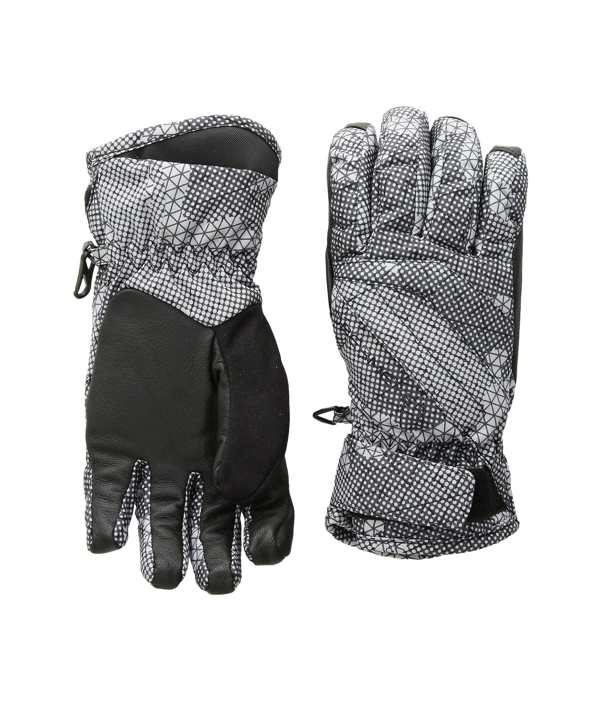 Obermeyer Kids Unisex Cornice Gloves (Big Kids) Grey Bit Camo XL