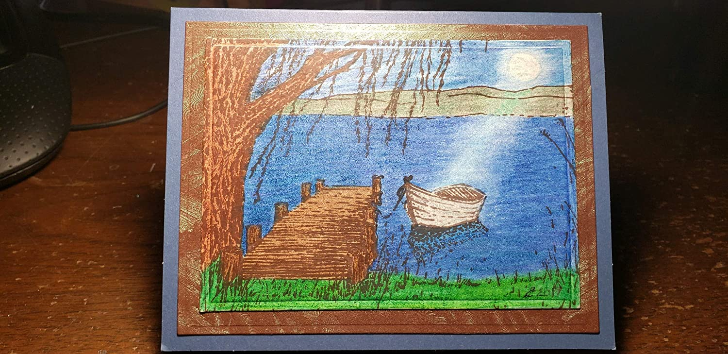 Time for fishing Greeting Card