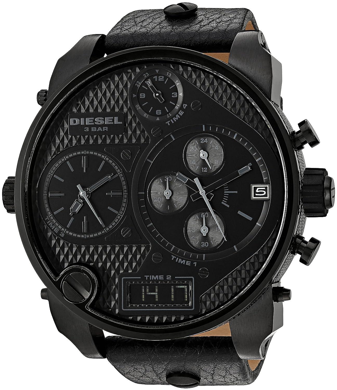 c5aceb66031d Amazon.com  Diesel Men s DZ7193 SBA Black Watch  Diesel  Watches