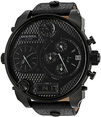 amazon com diesel men s dz7193 sba black watch diesel watches diesel men s dz7193 sba black watch
