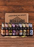 Wacken Brauerei Göttergabe - 18 x 0,33l Beer of the Gods - Craftbeer Paket - Craft Beer Set - Bierbox - Geschenkset