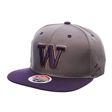 72ab2862c48 Image Unavailable. Image not available for. Color  Zephyr Men s Washington  Huskies Z11 ZWOOL HAT ...