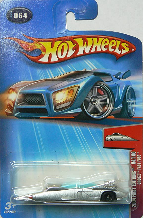 Hot Wheels 2004 First Editions Crooze Fast Fuse 64/100 SILVER 064: Amazon.es: Juguetes y juegos