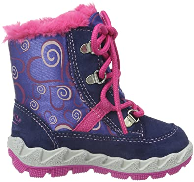 bb6cb5f0840f9 Superfit Girls  Icebird 700014 Ankle Boots, Blau (Water Kombi 88), 5 Child  UK  Amazon.co.uk  Shoes   Bags