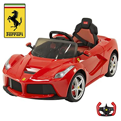 Best Choice Products 12V Electric Kids Ride On LaFerrari RC Remote Control Car- Red: Toys & Games