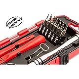 Bonafide HardwareTM - Smart Phone Repair Tool Kit 17 Piece Set Screw Driver Torx Pentalobe Cell Tools