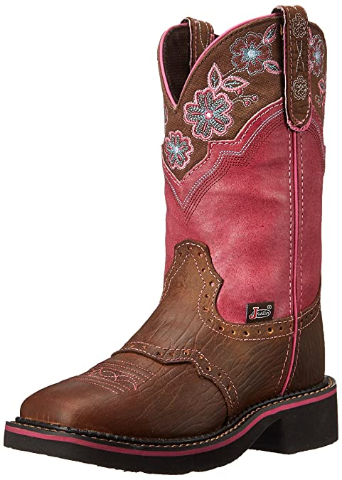c0bb41fb2c Justin Botas l9955 marrón Mujer Western - Botas de equitación