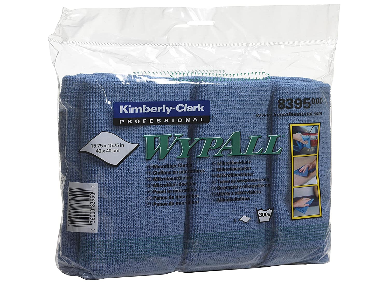 bleus Chiffons en microfibres WypAll* 8395-1 paquet de 6 chiffons