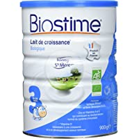 Biostime Lait Infantile 3ème Âge Biologique 900 g - Lot de 3