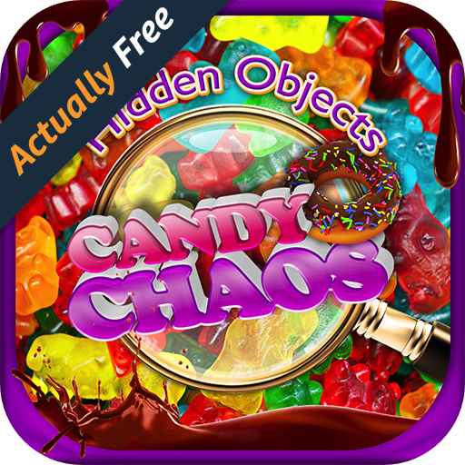 Hidden Object Candy Chaos – Cupcakes, Dessert, Cake Pops, Cookies Pic Puzzle Objects Differences Seek & Find FREE Food Game -