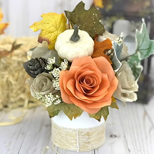 Amazon Country Chic Paper Flower Table Centerpiece Handmade