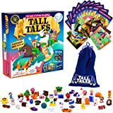 SCS Direct, Tall Tales Story Telling Board Game - The Educational Family Game of Infinite Storytelling - 5 Ways to Play - Pro