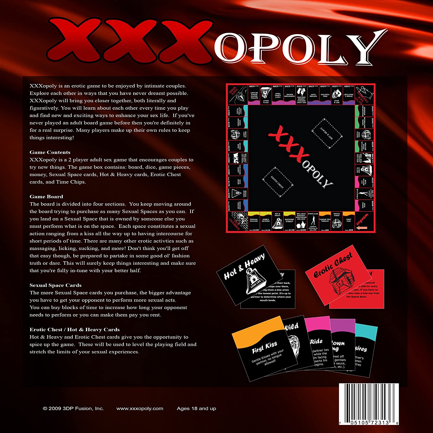 Amazon Xxxopoly Adult Board Games By 3dp Fusion Toys Games