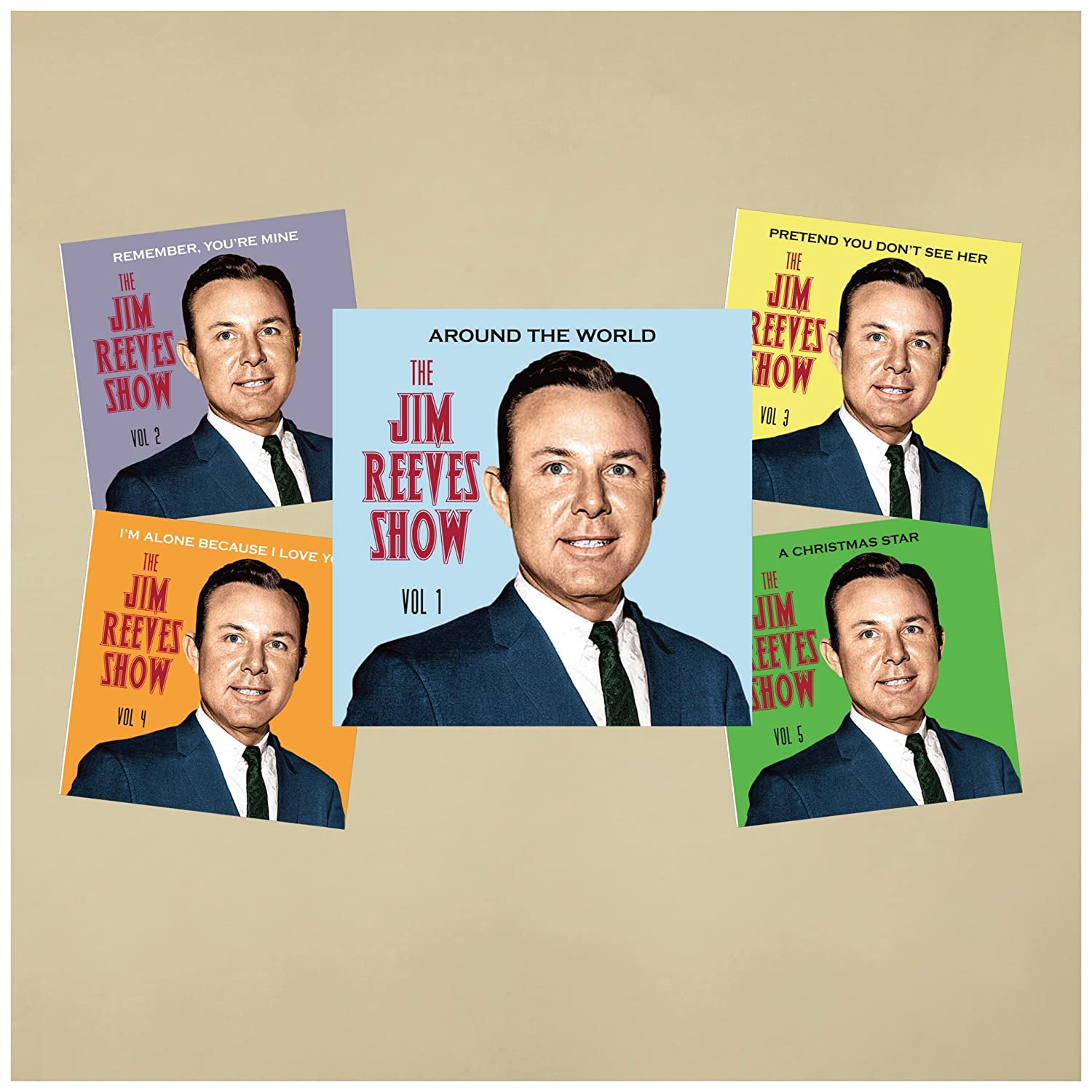 Jim Reeves - The Jim Reeves Show 5 CD set (New release!) - Amazon ...