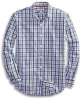 Goodthreads Men's Standard-Fit Long-Sleeve Checked Shirt
