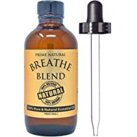 Breathe Essential Oil Blend 4oz / 118ml - Pure Undiluted Therapeutic Grade for Aromatherapy...