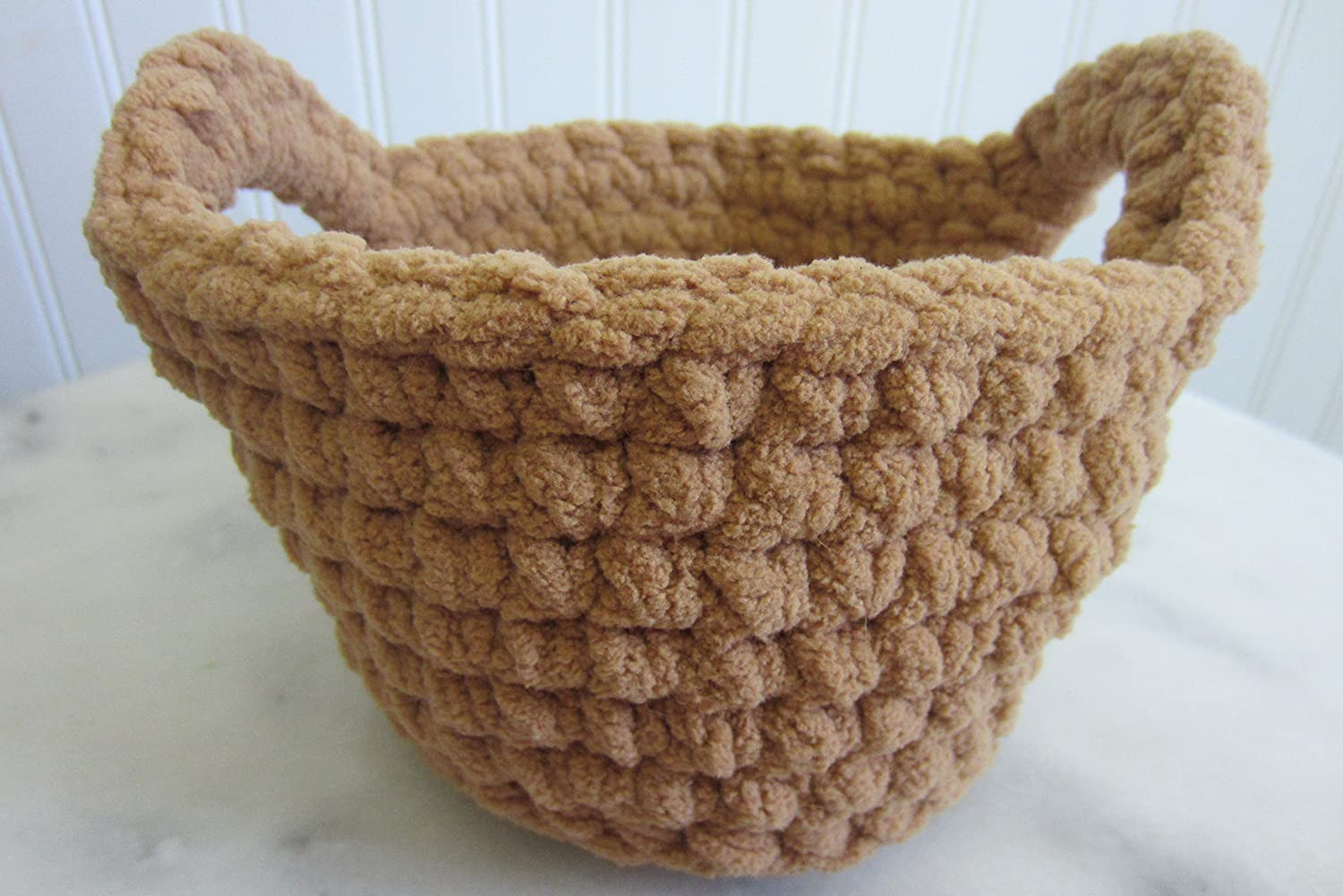 B0168TC32E Small Round Basket with Handles - Many Color Choices 91jLe6OwSYL