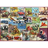 Gibsons G6222 The Racing Game Jigsaw Puzzle (1000-Piece)