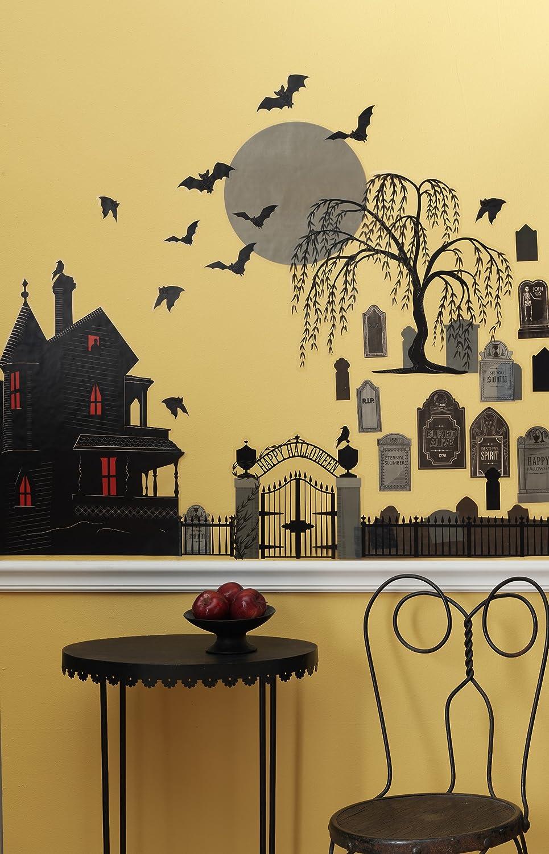Amazon.com: Martha Stewart Crafts Wall Clings, Animal Masquerade ...